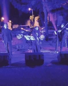 Luci e musica tra i palazzi di Ponticelli