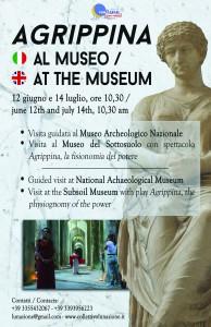 locandina Agrippina al Museo