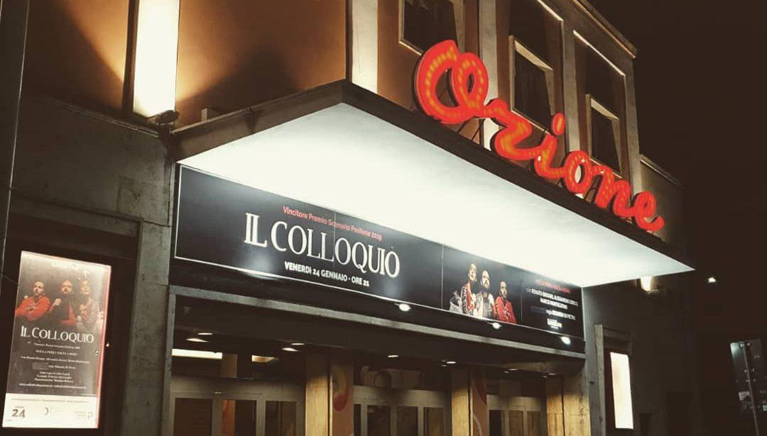 24 GENNAIO 2020 | Il Colloquio – Nuovo Teatro Orione, Roma